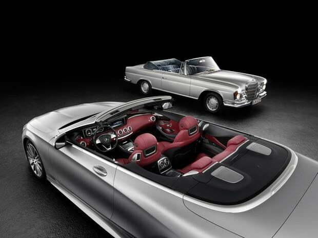 Mercedes-Benz Classe S Cabriolet – Características