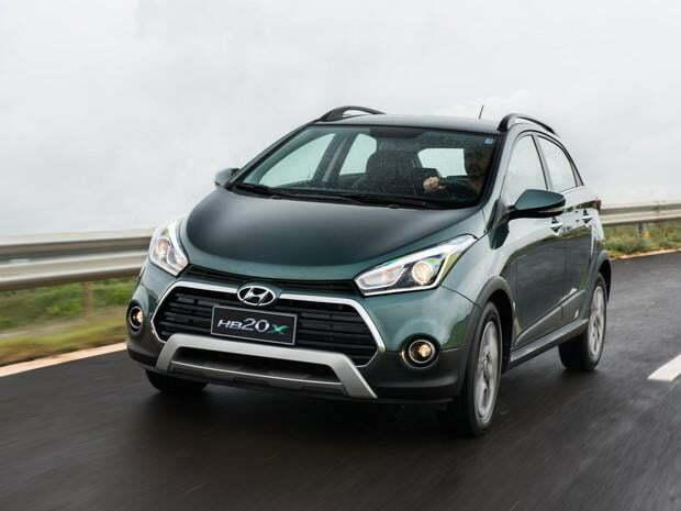 Hyundai HB20X 2016 será lançado no Brasil