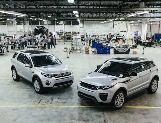 Range Rover Evoque será fabricado no Brasil em 2016