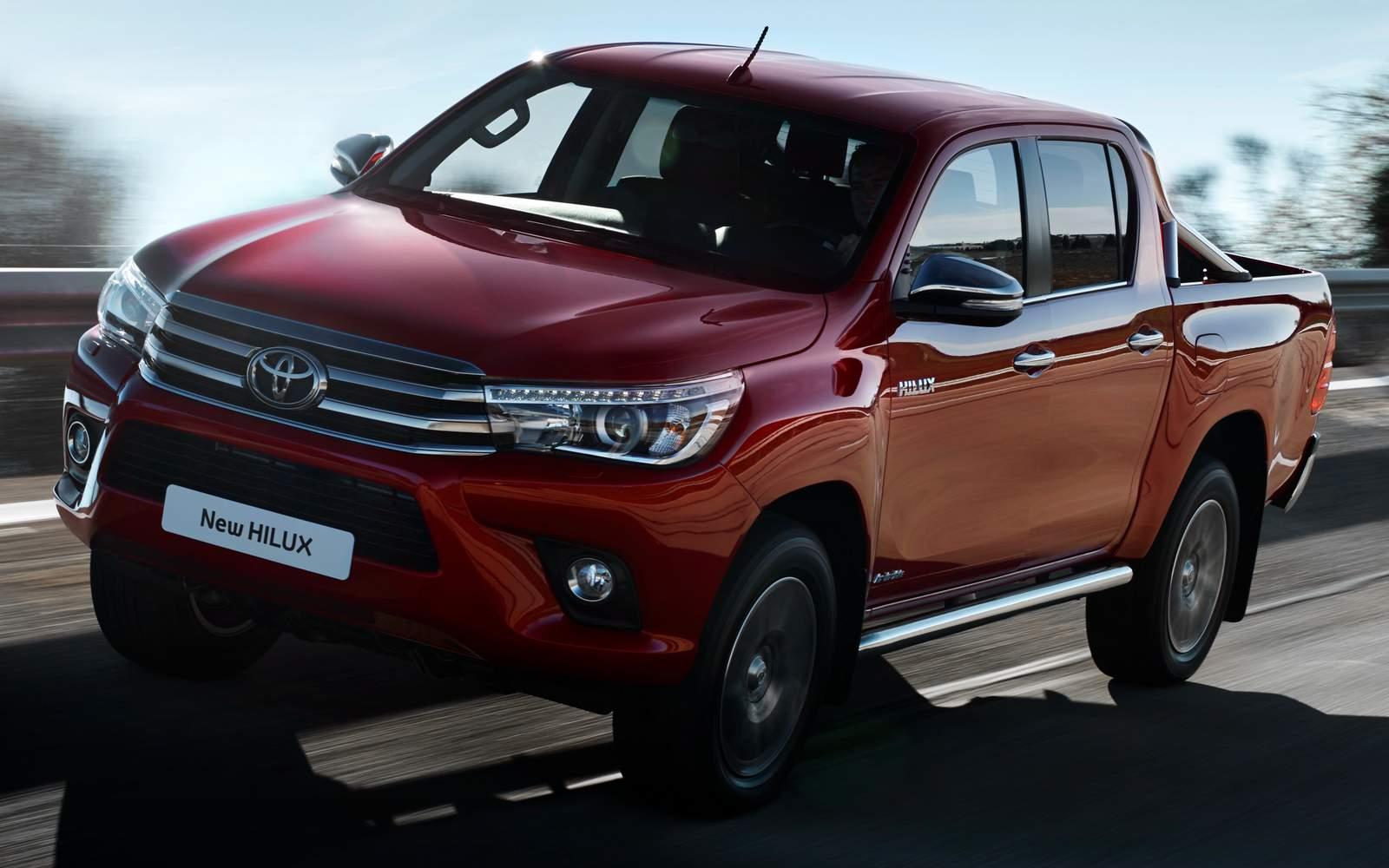 Toyota Hilux 2016 traz novidades ao mercado brasileiro