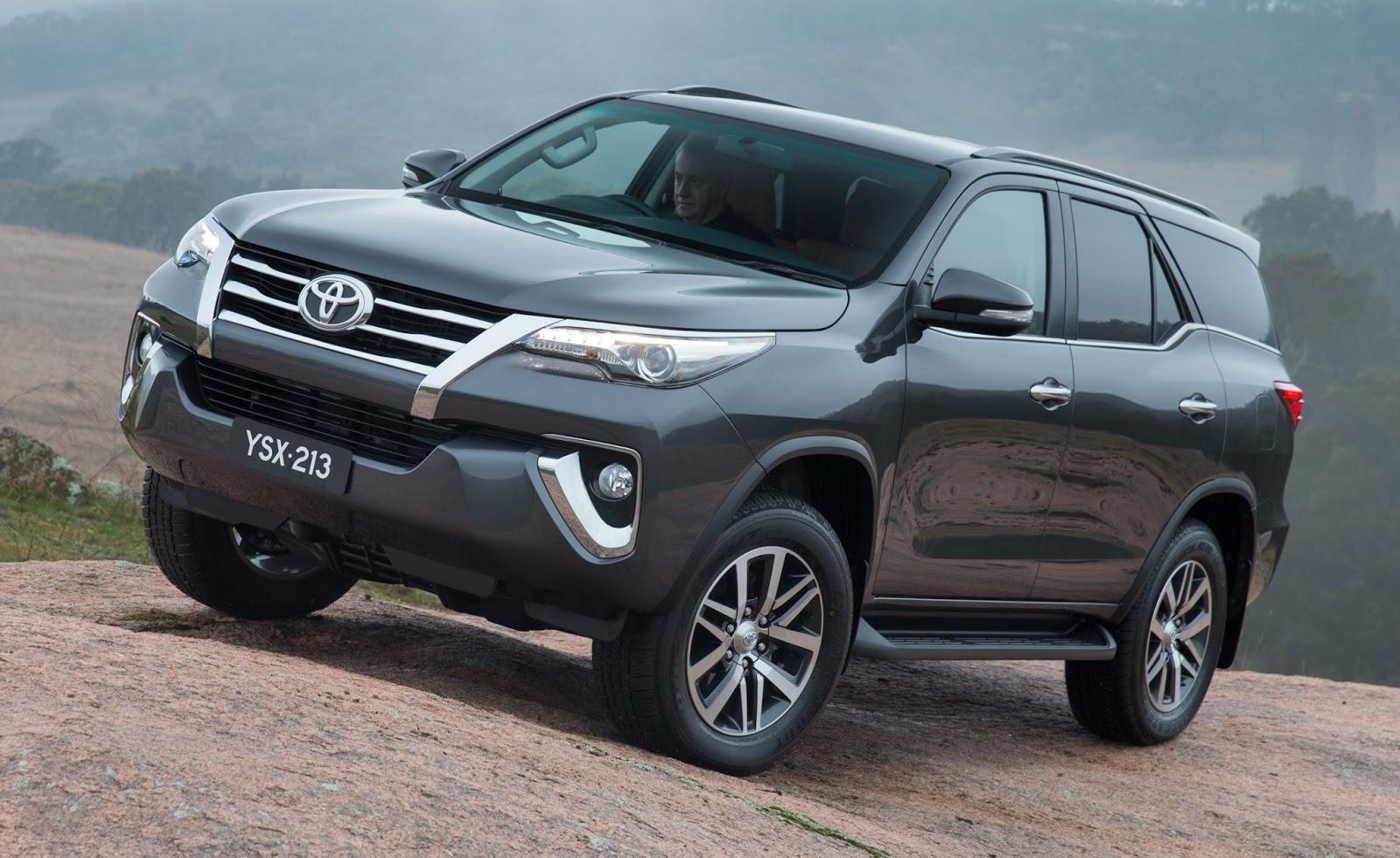 Novo Toyota SW4 será lançado no Brasil em 2016