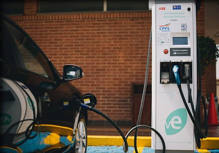 Carregador de veículos elétricos foi instalado em São Paulo