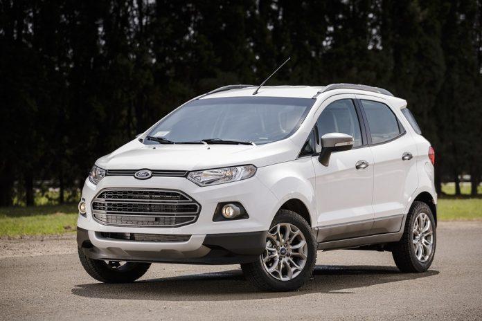 Novo Ford EcoSport 2017 é Flagrado em Testes na Europa