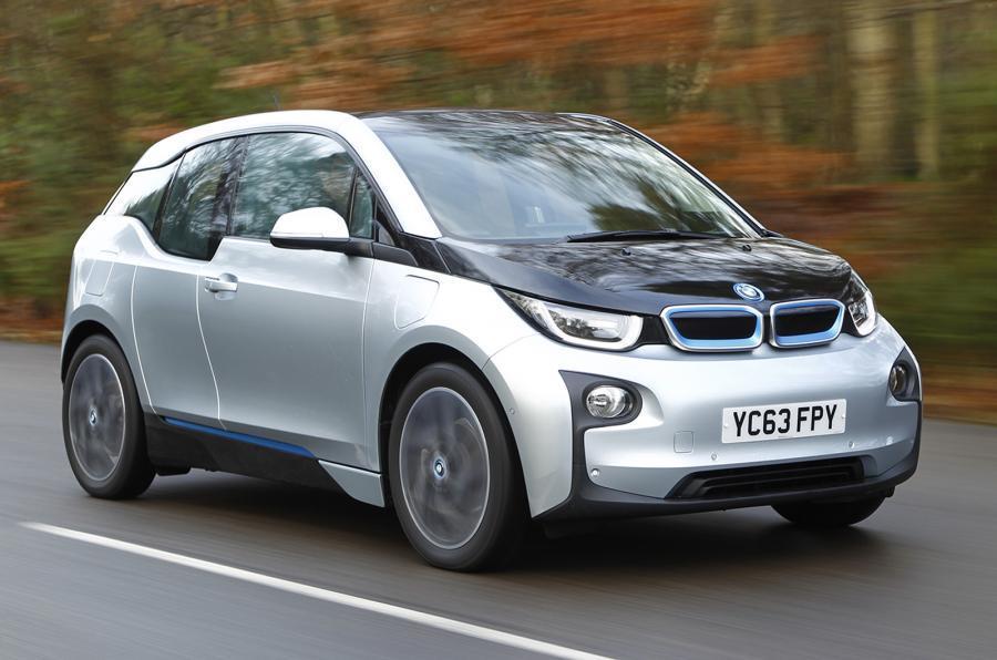 Carro elétrico BMW i3