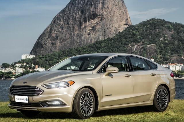 Novo Ford Fusion Hybrid 2017 foi apresentado no Brasil