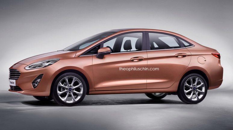 Ford Fiesta Sedan 2018 – Visual da Nova Geração