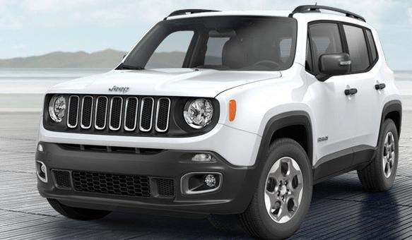 Especificações do Jeep Renegade – Versões, Preços