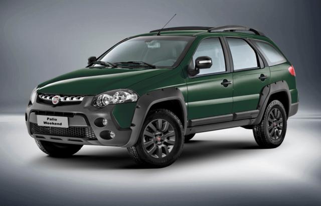 Fiat Weekend 2018 – Especificações