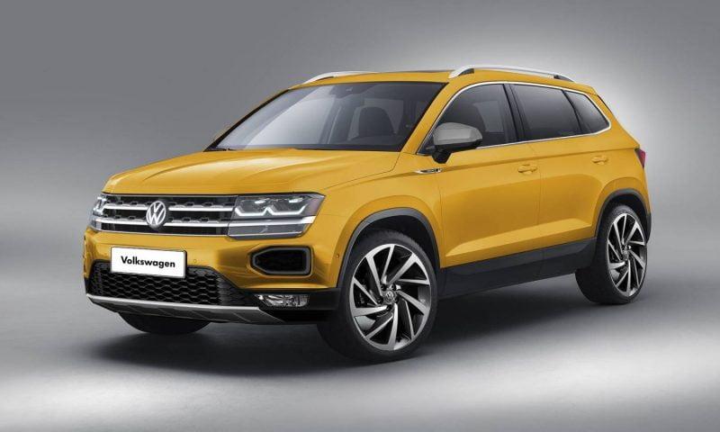 Primeiras Imagens do Novo Volkswagen Tarek