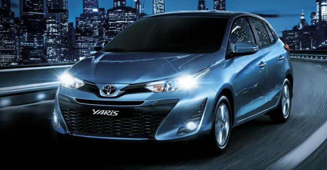 Toyota Yaris 2019 – Características, Especificações