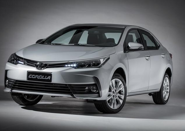 Aumento nos Preços do Toyota Corolla 2019