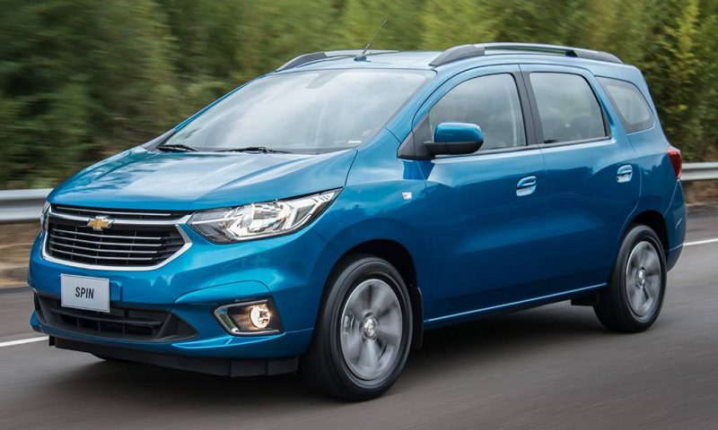 Novo Chevrolet Spin 2019 – Tabela de Preços